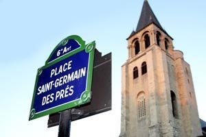 Vie parisienne - eglise saint germain des prés