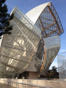 8 mai 2017 à Paris: la Fondation Louis Vuitton