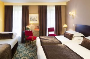 A Family Stay at Hotel des 2 Continents, Paris