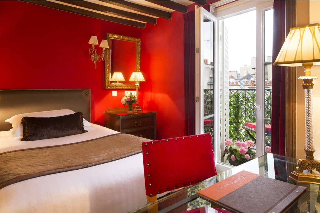 Hotel in Paris Easy Access Public Transport: Hotel des 2 Continents